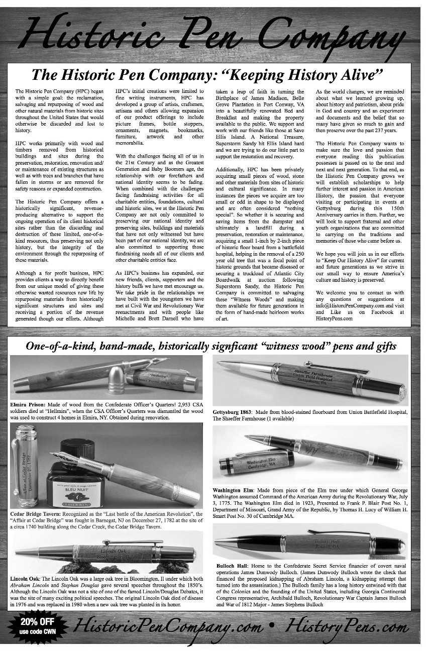 Historic Pen Company Flyer