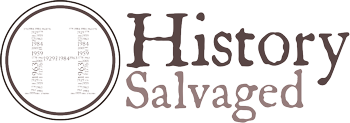 History Salvaged Logo